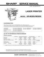 Buy Sharp SHARP AR-M280N by download Mauritron #210651