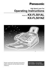 Buy Panasonic KXFLM600 Operating Instruction Book by download Mauritron #236027