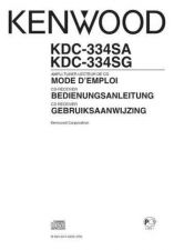 Buy Kenwood KDC-334SG by download Mauritron #221656