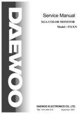 Buy Daewoo. SM_719BF_(E). Manual by download Mauritron #213224