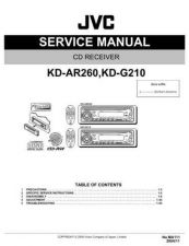 Buy JVC KD-G210UC Service Manual Schematic Circuit. by download Mauritron #271315