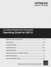 Buy Hitachi 50C10 Service Manual by download Mauritron #224161