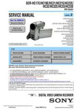 Buy Sony HC32-HC32E-HC33-HC33E Service Manual by download Mauritron #232006