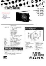 Buy SONY ICFSW20 Technical Info by download #104757