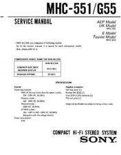Buy Sony MHC-595 Service Manual. by download Mauritron #242814