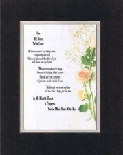 Buy Heartfelt Poem for Nieces - For My Niece with Love . . on11x14 Double Matting