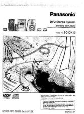 Buy Panasonic SCDK10 Operating Instruction Book by download Mauritron #236444
