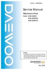 Buy Daewoo OR1B5H9001 Manual by download Mauritron #226257