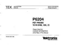 Buy TEKTRONIX P6204_IN by download #109707