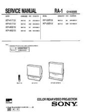 Buy Sony KP[-48S72 Service Manual. by download Mauritron #242060