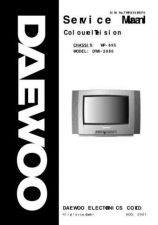 Buy DAEWOO DWX2880 COLOUR TV WP895 CHASSIS SERVICE MANUAL Manual by download Maurit