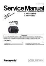Buy Panasonic MAC0505001C1 Service Manual by download Mauritron #267566