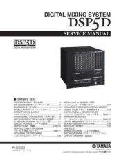 Buy Yamaha DSP5D SM1 C Manual by download Mauritron #256282