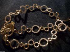 Buy Vintage Vermeil gold/ Sterling Silver Rhinestone Necklace/Valentines/Bling