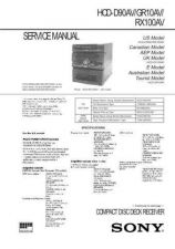 Buy Sony HCD-GR10AV Manual by download Mauritron #229131
