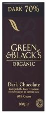 Buy Green & Black's Organic Dark Chocolate 70% Cocoa