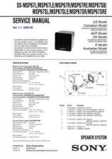 Buy Sony SS-MF315 Service Manual. by download Mauritron #244873