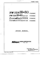 Buy NIKON Zoom Touch 500S Repair Manual by download Mauritron #266267