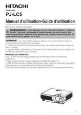 Buy Hitachi PJLC2001 NL Manual by download Mauritron #225399