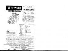 Buy Hitachi VMD975LA Service Manual by download Mauritron #264871