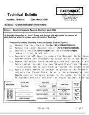 Buy SHARP TB96_116 TECHNICAL BULLETIN by download #104537