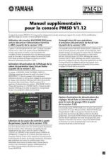 Buy Yamaha PM5DV112 FR Operating Guide by download Mauritron #249227