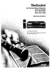 Buy Panasonic SAEX300 Operating Instruction Book by download Mauritron #236382