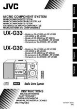 Buy JVC UX-G30-8 Service Manual by download Mauritron #273673