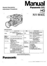 Buy Panasonic NVM40 Operating Instruction Book by download Mauritron #236245
