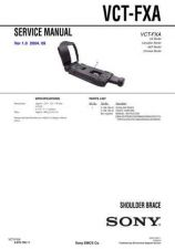 Buy Sony VCT-FXA Service Manual by download Mauritron #241905