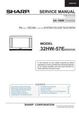 Buy Sharp 32HW57E (1) Service Manual by download Mauritron #207638