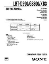 Buy Sony LBT-G3300 Manual by download Mauritron #229603