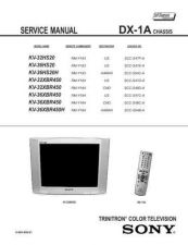 Buy Sony DX-1A Service Manual by download Mauritron #240550
