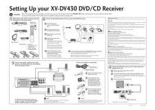 Buy Pioneer 9615453sub manual XV-DV430 by download Mauritron #223618