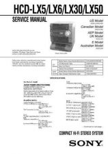 Buy Sony HCD-LF10 Service Manual by download Mauritron #241199