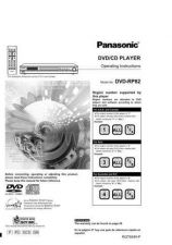 Buy Panasonic DVDRP82 Operating Instruction Book by download Mauritron #235997