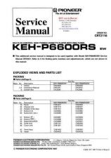 Buy PIONEER KEHP6600RS CRT2116 Technical Information by download #119302