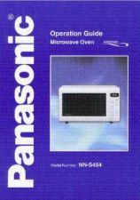 Buy Panasonic NNS454 Operating Instruction Book by download Mauritron #236160