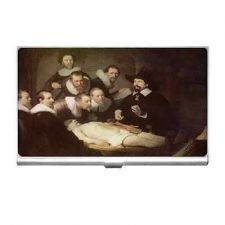 Buy Anatomy Lesson Rembrandt Art Business Credit Card Holder
