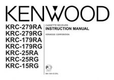 Buy Kenwood KRC-RG Operating Guide by download Mauritron #219427