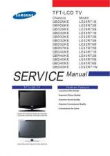 Buy Samsung LE40R71B Service Manual by download Mauritron #232590