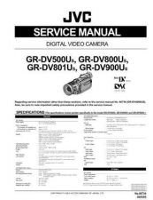 Buy JVC GR-DV800U Service Manual Schematic Circuit. by download Mauritron #270650