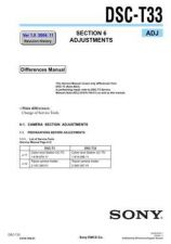 Buy Sony DSC-T30 Service Manual by download Mauritron #244201