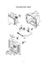 Buy LG GOLDSTAR CF14D10K 104P RPL Service Information by download #112659