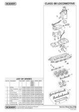Buy Hornby No.278B Class 08 Service Sheets by download Mauritron #207056