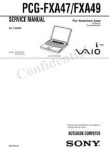 Buy Sony PCG-F610-630 Service Manual. by download Mauritron #243269