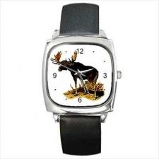 Buy Bull Moose Unisex Animal Art Wrist Watch NEW