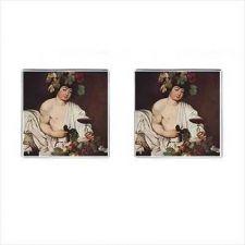 Buy Bacchus God Of Wine Caravaggio Art Mens Square Cufflinks