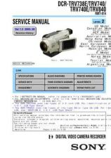 Buy Sony TRV80TRV80E Service Manual. by download Mauritron #245588