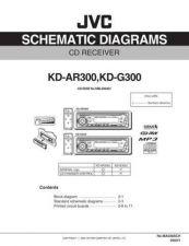 Buy JVC KD-AR300J SCH SERVICE MANUAL by download Mauritron #220300